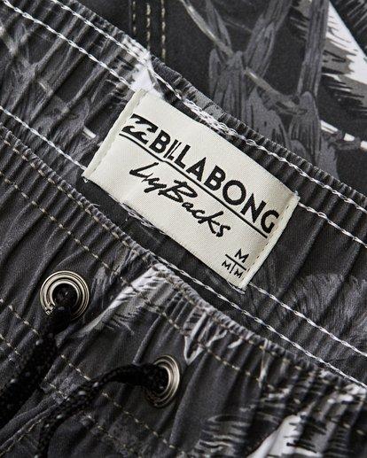 2 Sundays Layback Boardshorts Black M183QBSE Billabong