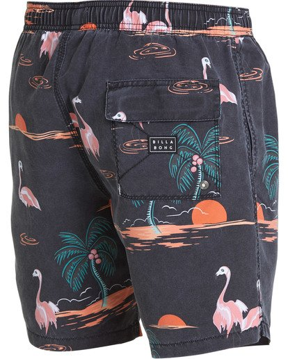 6 Sundays Layback Boardshorts Orange M183QBSE Billabong