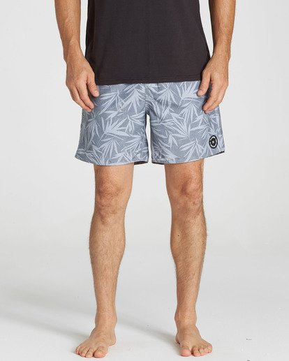 3 All Day Mini Mark Layback Boardshorts Grey M184QBAE Billabong