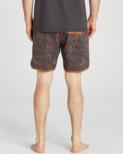 4 Barra Boardshorts Orange M192NBBA Billabong