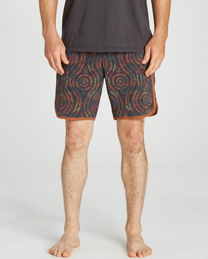 3 Barra Boardshorts Orange M192NBBA Billabong