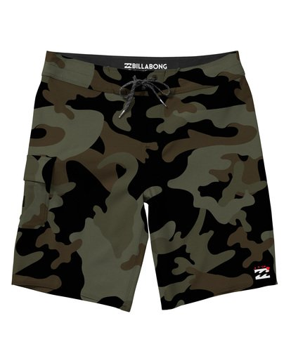 0 All Day X Hawaii Boardshorts Camo M193NBAL Billabong