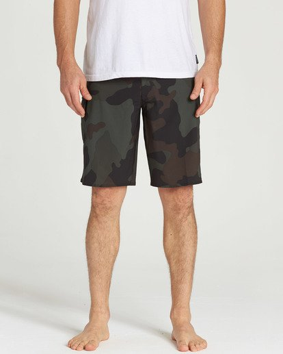 3 All Day X Hawaii Boardshorts Camo M193NBAL Billabong