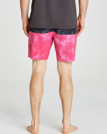 5 Fifty50 Reissue Boardshorts Pink M193QBFR Billabong