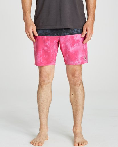 4 Fifty50 Reissue Boardshorts Pink M193QBFR Billabong