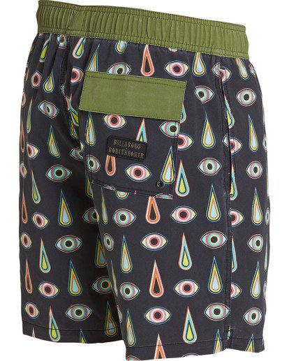 3 Iris Layback Boardshorts Black M193TBRL Billabong