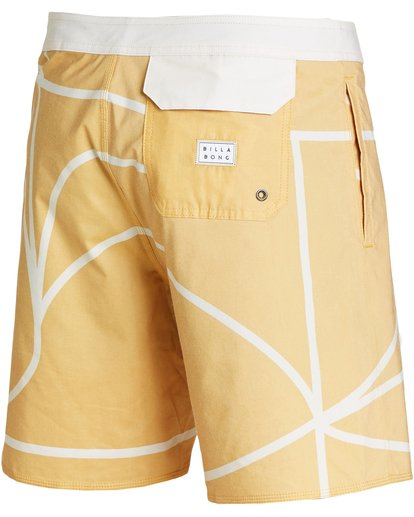 2 Babylonian Pearl Boardshorts Yellow M195QBBP Billabong
