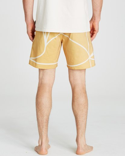4 Babylonian Pearl Boardshorts Yellow M195QBBP Billabong