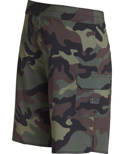2 All Day Camo Pro Boardshorts Camo M196TBAD Billabong