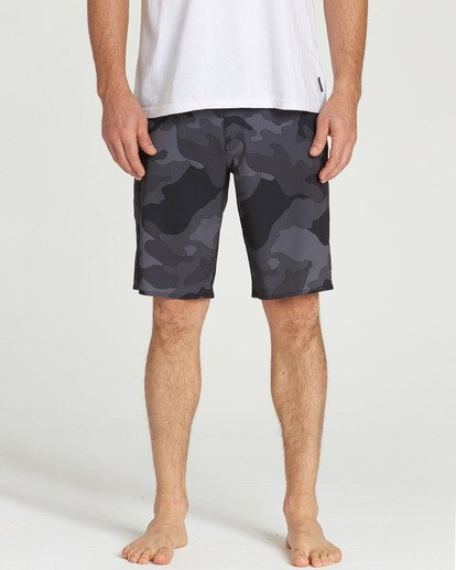 3 All Day Camo Pro Boardshorts Black M196TBAD Billabong