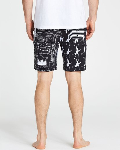 4 Knives Lo Tides Boardshorts Black M198PBKN Billabong