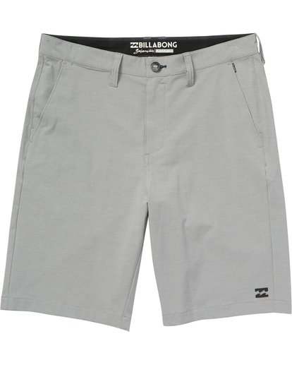 3 Crossfire X Mid Length Submersibles Shorts Grey M201QBCM Billabong