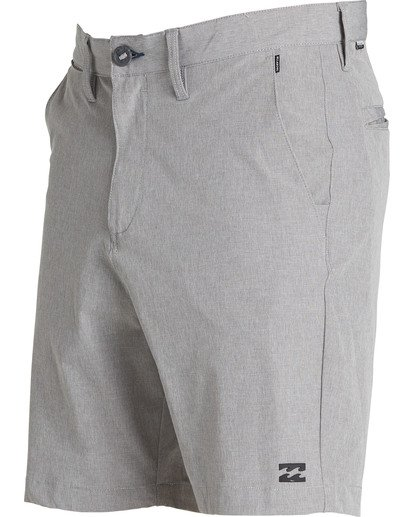 1 Crossfire X Mid Length Submersibles Shorts Grey M201QBCM Billabong