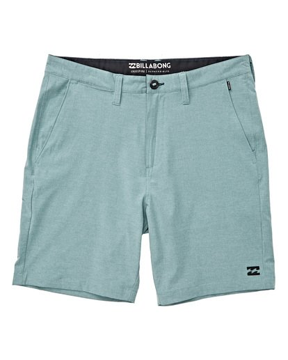 1 Crossfire X Mid Length Submersibles Shorts Blue M201TBXE Billabong