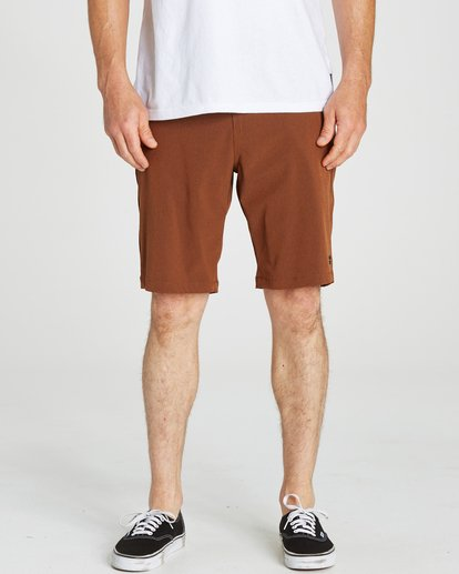 3 Crossfire X Submersibles Shorts Brown M202NBCX Billabong