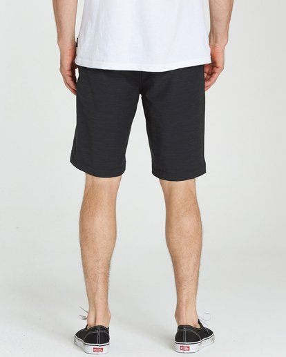 4 Crossfire X Slub Submersibles Shorts Black M203NBCS Billabong