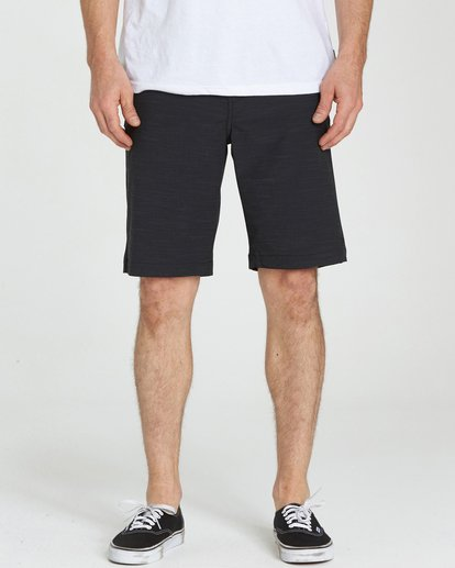3 Crossfire X Slub Submersibles Shorts Black M203NBCS Billabong