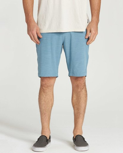 4 Crossfire X Slub Submersibles Shorts Blue M203NBCS Billabong