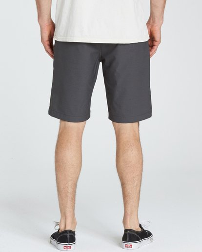 4 Crossfire X Twill Submersibles Shorts Black M204NBCT Billabong