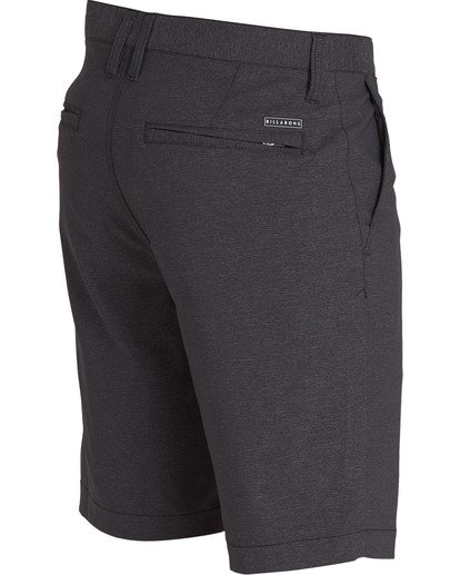 3 Crossfire X Micro Shorts Black M205TBCM Billabong