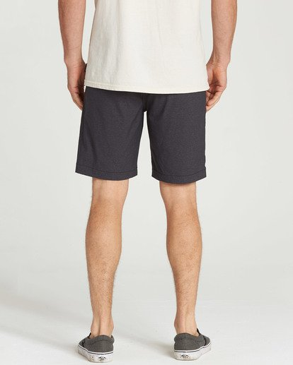 5 Crossfire X Micro Shorts Black M205TBCM Billabong