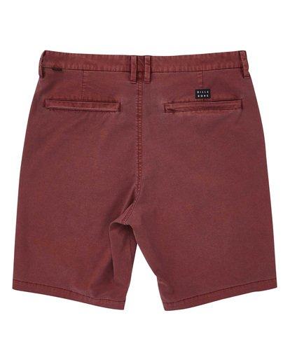 1 New Order X Overdye Shorts Red M207TBNO Billabong