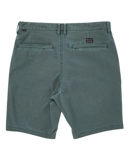 1 New Order X Overdye Shorts Green M207TBNO Billabong