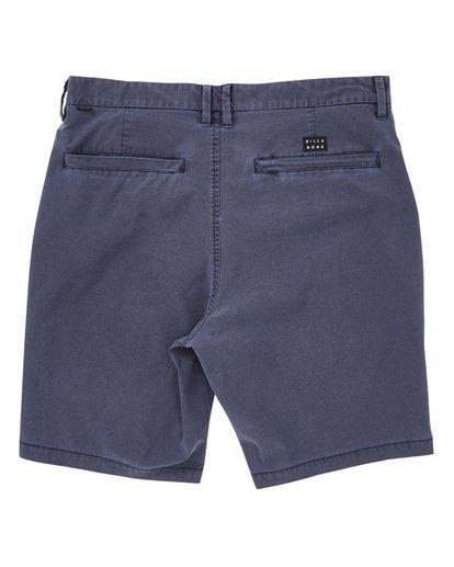 1 New Order X Overdye Shorts Purple M207TBNO Billabong