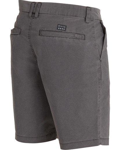 3 New Order X Overdye Shorts Black M207TBNO Billabong