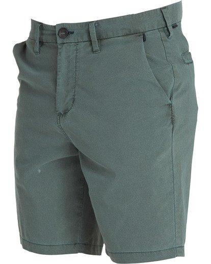 2 New Order X Overdye Shorts Green M207TBNO Billabong