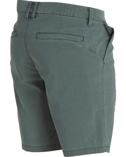 3 New Order X Overdye Shorts Green M207TBNO Billabong