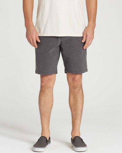 4 New Order X Overdye Shorts Black M207TBNO Billabong