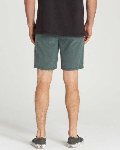 5 New Order X Overdye Shorts Green M207TBNO Billabong