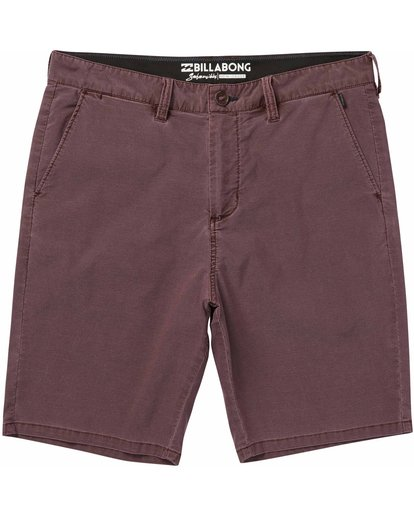 0 New Order X Overdye Submersibles Shorts Brown M209NBNO Billabong