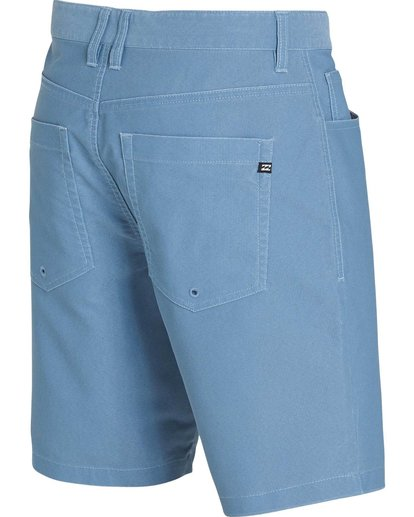 2 Outsider X Surf Cord Submersibles Shorts Blue M211NBOC Billabong