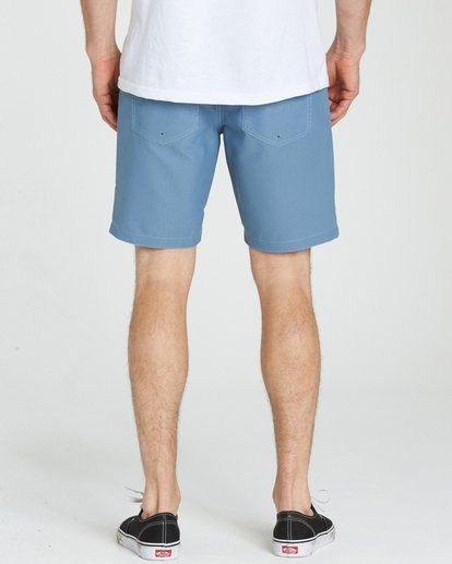 4 Outsider X Surf Cord Submersibles Shorts Blue M211NBOC Billabong