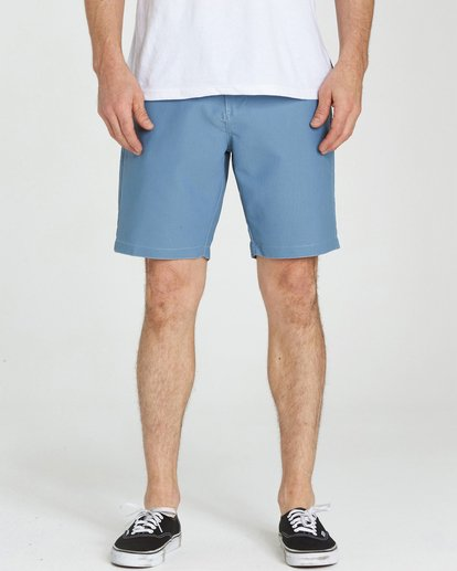 3 Outsider X Surf Cord Submersibles Shorts Blue M211NBOC Billabong