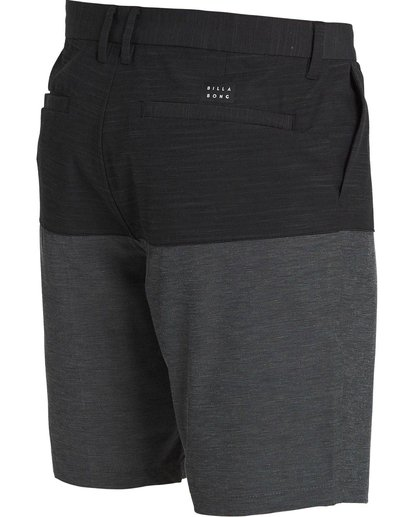 2 New Order X Fifty50 Submersibles Shorts Black M212NBNF Billabong