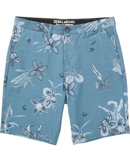 0 New Order X Sundays Submersibles Shorts Blue M213NBNS Billabong