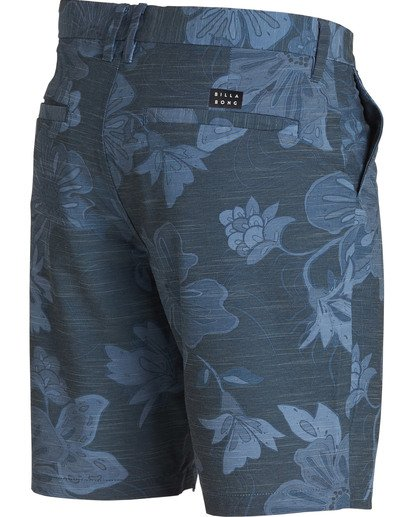 2 New Order X Sundays Submersibles Shorts Blue M213NBNS Billabong