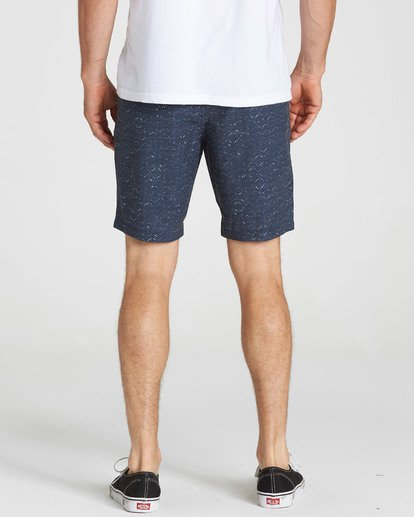 5 New Order X Sundays Submersibles Shorts Blue M213NBNS Billabong