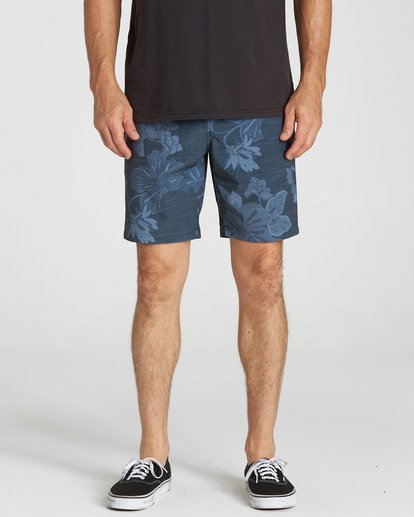 3 New Order X Sundays Submersibles Shorts Blue M213NBNS Billabong
