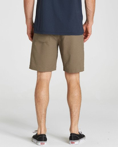 5 Surftrek Wick Shorts Brown M216NBSW Billabong