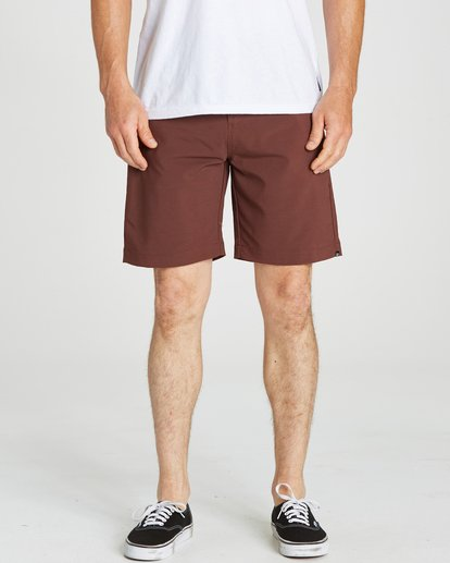 4 Surftrek Wick Shorts Brown M216NBSW Billabong