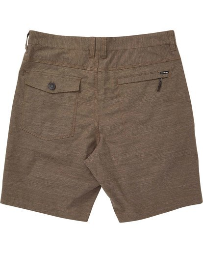 1 Surftrek Spacedye Shorts Brown M217TBSS Billabong