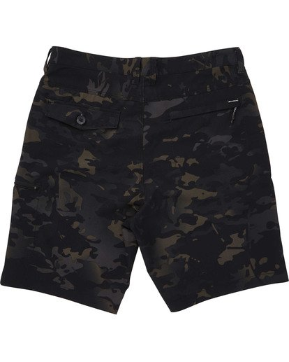 1 Surftrek Multicam Cargo Shorts Black M218TBBC Billabong
