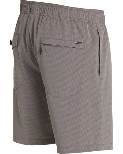 3 Surftrek Perf Elastic Shorts Grey M219TBSP Billabong