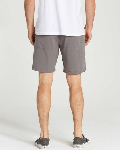 5 Surftrek Perf Elastic Shorts Grey M219TBSP Billabong