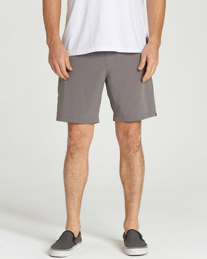 4 Surftrek Perf Elastic Shorts Grey M219TBSP Billabong