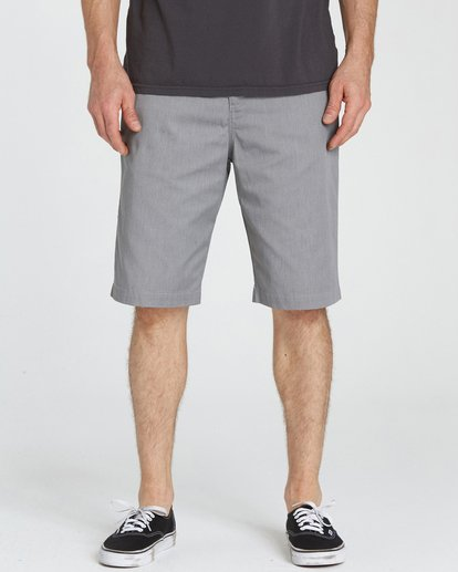 3 Carter Shorts Grey M230NBCA Billabong